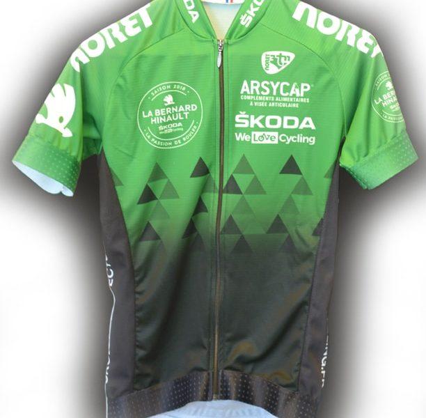 maillot cycliste bernard hinault arsycap
