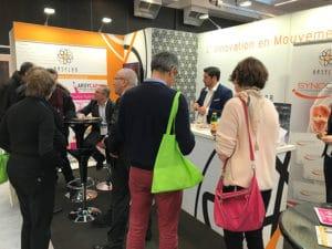Stand Arsylab congres annuel de la société française de rhumatologie 2018